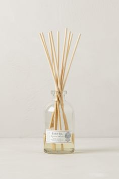 This came in my September PopSugar box, it smells SO good!  Barr-Co. Reed Diffuser - Anthropologie.com