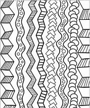 tribal striped hand drawn seamless pattern geometric black white background swatches of. Black Bedroom Furniture Sets. Home Design Ideas