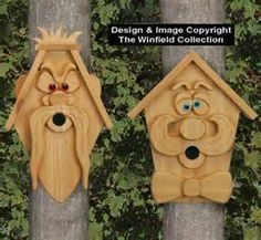 Image detail for -Precious Metal Clay: Six mini birdhouses