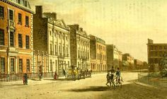 Grosvenor Square from Ackermanns Repository (March 1813) Regency History: Regency period London in Pride and Prejudice