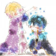 Vincent and Gilbert ||| Pandora Hearts Fan Art