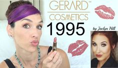 1995 Gerard Cosmetics Lipstick Review and Swatches