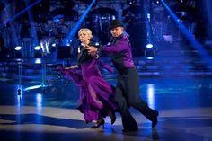 Deborah Meaden and Robin Windsor Perform In Week 5 Of Strictly Come Dancing 2013