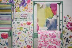 "We are delighted to share the launch of Bluebellgray's first ever highly  anticipated wallpaper collection with you.  Statement floral and abstract  designs make a true design statement with walls of colour!  Big Rothesay  Flower Field  A selection of signature floral and abstract watercolour designs are  beautifully presented; digital printing captures every brushstroke and  walls of colour make a true feel good design statement.  Impressionist  Fumiko  ""Wallpaper is something I have been…"