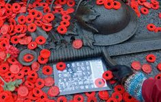 Really striking photo for Remembrance day November 11.