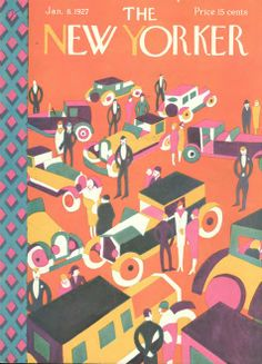 Vintage Illustrations 1927 vintage The New Yorker Art Deco / Great Gatsby magazine cover John Held Jr - The New Yorker, New Yorker Covers, Old Magazines, Vintage Magazines, Magazine Illustration, Illustration Art, Cover Art, Life Cover, Magazine Art