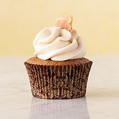 Gluten Free Triple Ginger Cupcakes A super recipe which you loves Gluten Free Cupcakes, Gluten Free Sweets, Yummy Cupcakes, Gluten Free Baking, Vegan Gluten Free, Gluten Free Recipes, Dairy Free, Mini Cupcakes, Paleo