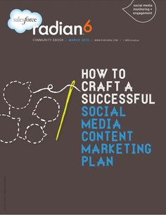 How-to-craft-a-successful-social-media-content-marketing-plan by Salesforce Marketing Cloud via Slideshare