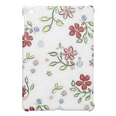 Flowers Make Sweet Music iPad Mini Case Cute Ipad Cases, Ipad Mini Cases, Ipad 1, Sweet, Music, Cover, Floral, Flowers, Candy