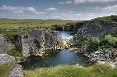 Disused quarry near Minions Bodmin Moor