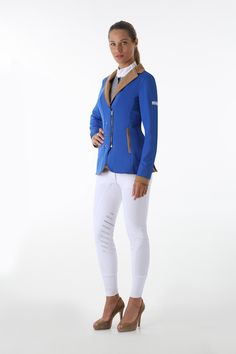 The LadyKiller Show Jacket by Animo Italia - Priced at £391 - Follow the link http://www.justriding.com and ask us about discounts on this price!!