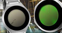 Kisai On Air Silver LED Watch.