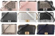 Chanel Boy Bags From Spring Summer 2014 Collection OMG!!!
