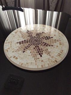 Prato giratório mosaic