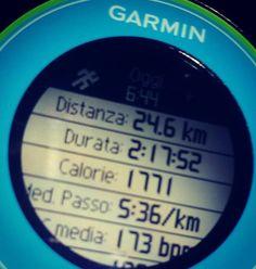3kms to add.  Vanno aggiunti 3km.  #28km #instafatto #instarun #igrunners @garmin @garminitaly #igersitalia #igrunner #training #corsa #instatraining #followme #followforfollow #forerunner #fr610 @saucony #nessunascusa #buongiorno #earlybird #runlover @justrunnnxc #instamarathon #maratona #runbeforethesun #runnerscommunity #domenica #sunday