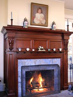 A Farmhouse Fireplace Reimagined - The Familial Hearth on HGTV