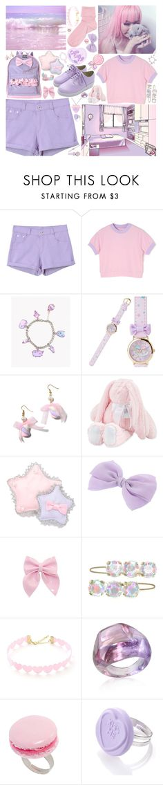 """""""58"""" by laughinglynx ❤ liked on Polyvore featuring Chicnova Fashion, Pusheen, Swankie Blankie, Bocage, Antica Murrina and And Mary"""