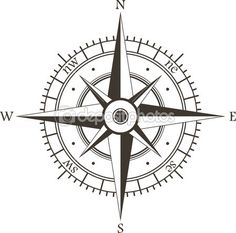 Rosa dos ventos — Ilustração de Stock #13557849 Mais