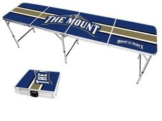 Mount St. Mary's Mountaineers Varsity Stripe Folding Table