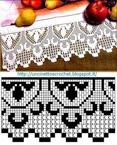 Uncinetto e crochet: Raccolta di bordi facili all'uncinetto per cucina e biancheria