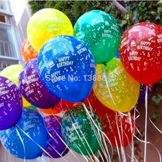 20 pcs/lot 12 Inch Colorful Happy Birthday Latex Balloons Birthday Party Decoration Kids Cheap Latex Balloons Party Suppliers #>=#>=#>=#>=#> Click on the pin to check out discount price, color, size, shipping, etc. Save and like it!