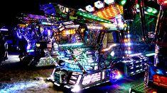 デコトラ集会が超エレクトリカルでスゴすぎた! - デイリーポータルZ:@nifty Japanese Landscape, Truck Art, Japanese Cars, Cars And Motorcycles, Times Square, Track, Art Disco, Glow, Deco