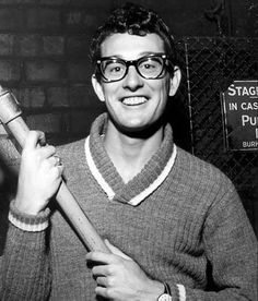 Buddy Holly!! Love love loveee this man!! I swear I was born in the wrong decade!! I can only imagine if I were able to see him live!!