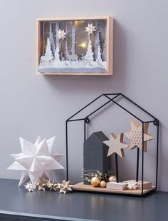 The most beautiful craft ideas for Advent and Christmas - weihnachten - Noel Christmas Is Coming, Scandinavian Christmas, Christmas 2019, All Things Christmas, Winter Christmas, Christmas Home, Merry Christmas, Ideas Actuales, Craft Ideas