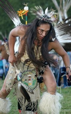 N. American Aboriginal dance, Tribe unknown.
