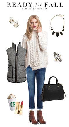 Fall Wish List 2014, Fall Fashion, 2014 Fall Fashion, Fall Must-Haves, Ready for Fall