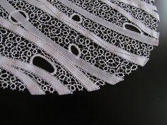 Milena Kalan Lace Heart, Lace Jewelry, Bobbin Lace, Crochet Home, Lace Detail, Contemporary Design, Antiques, Modern, Bobbin Lacemaking