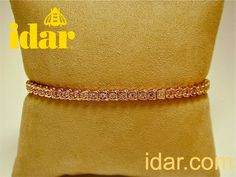 Pink diamonds, red gold by idar