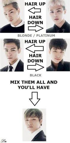 Bigbang hairstyles