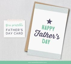 Free printable father's day card-  Click the download link under the Card image- see it highlighted in blue- save as!
