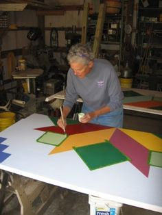 Beyond the Blue Gate: Birth of a Barn Quilt