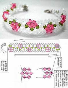 beaded bracelet patterns There is a lot of beaded stuff thats just quot;too muchquot; Beaded Bracelets Tutorial, Beaded Bracelet Patterns, Beading Patterns, Beads Tutorial, Free Beading Tutorials, Crochet Bag Tutorials, Beaded Crafts, Jewelry Crafts, Handmade Jewelry