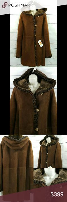 SOLD❌Authentic Blue Duck Shearling Winter Coat | Sheepskin coat ...