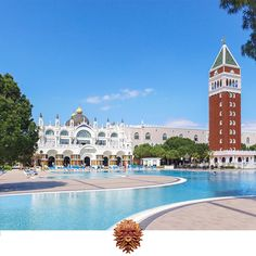 Here you can spend an unforgettable cheerful holidays on the famous Venice squares…  #veneziapalace #veneziapalacehotel