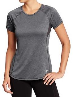 Womens Old Navy Active Mesh Tops