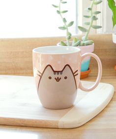 Pusheen the Cat Polka Dot mug... Cute and loveable, great for winter weather. I have this cup!!!!!!