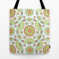 Kristofer's Mandala Tote Bag by #PatriciaSheaDesigns