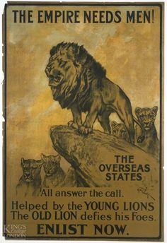 King's Collections : The Serving Soldier : World War One Posters