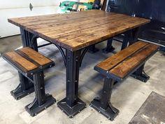 Souduregenec@hotmail.ca Table metal bois