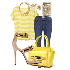 Ladies - Brilliant yellows for that Easter date!