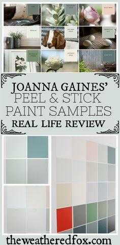 Fixer Upper Paint Colors: Magnolia Home Paint Color Matched to Benjamin Moore - The Weathered Fox Farmhouse Paint Colors, Exterior Paint Colors, Paint Colors For Home, Paint Colours, Fixer Upper Paint Colors, Matching Paint Colors, Bedroom Colour Palette, Bedroom Colors, Bedroom Decor