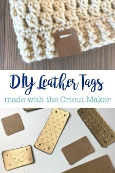 DIY Embossed Leather Tags made with the Cricut Maker and Cricut Cuttlebug Best Picture For Cricut birthday For Your Taste You are looking for something, and it is going to tell you exactly what you ar How To Emboss Leather, How To Make Leather, Diy Leather Embossing, Cricut Tags, Cricut Cuttlebug, Diy Leather Labels, Diy Leather Projects, Leather Crafting, Cricut Craft Room