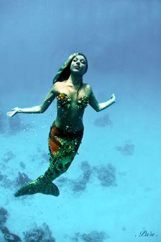 Our friend Hannah Mermaid