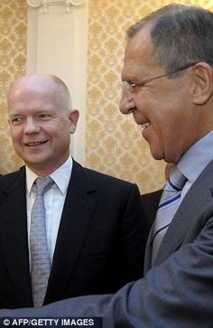 William Hague & Sergey Lavrov