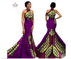 2017 African Women Long Dresses Dew Shoulders Women Formal Elegant Dresses Print Wax Party Gowns Plus Size Dress Female African Fashion Designers, African Men Fashion, African Dresses For Women, Africa Fashion, African Attire, African Wear, African Fashion Dresses, African Women, African Style