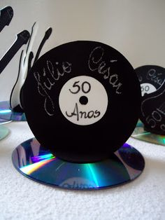 Music party theme ideas sock hop 41 New ideas 80s Birthday Parties, Music Theme Birthday, Rockstar Birthday, Music Themed Parties, 70s Party, Music Party, 50th Birthday, Disco Party Decorations, Party Themes
